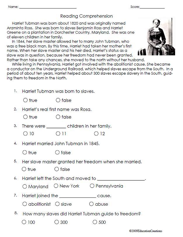 Harriet Tubman Worksheet Delibertad – Harriet Tubman Worksheets